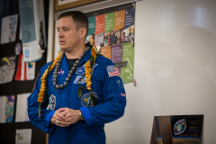 Astronaut Jack D. Fischer 2018
