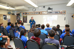 Astronaut Mike Fincke Visit
