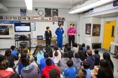 Astronaut Rex Walheim Visit