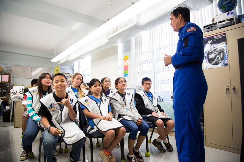 Challenger Center Hawaii CCHI Opened Its Doors In April Of 1993 With The Goal Educating And Inspiring Children To Develop Fundamental Skills While